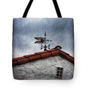 Weathered Weathervane Tote Bag by Carol Leigh