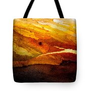Weathered Wood Landscape Tote Bag