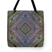 Weathered Wood Tiled IIi Tote Bag
