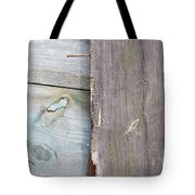 Weathered Wooden Boards Tote Bag