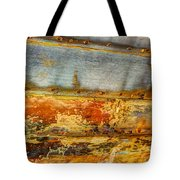 Weathered Wooden Boat - Abstract Tote Bag