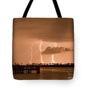 Weaver Park Lightning Tote Bag