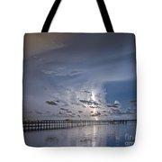 Weaver Pier Illuminated Tote Bag