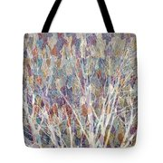 Web Of Branches Tote Bag