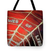 Web Of Lies Tote Bag