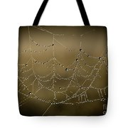 Web Of Pearls Tote Bag