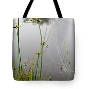 Web Of Pearls Tote Bag