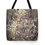 Web We Weave Tote Bag