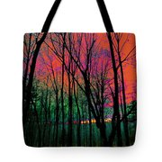 Webbs Woods Sunset Tote Bag