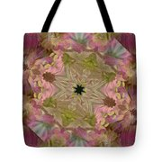 Wedding Bell Pink Daisies Tote Bag