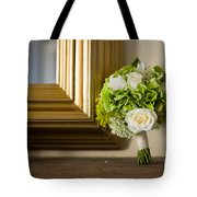 Wedding Bouquet And Mirror Tote Bag
