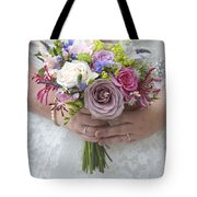 Wedding Bouquet Tote Bag