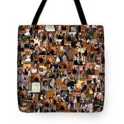 Wedding Collage Tote Bag
