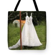 Wedding Dress  Tote Bag
