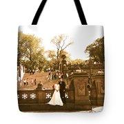 Wedding In Central Park Tote Bag