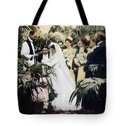 Wedding Party, 1900 Tote Bag