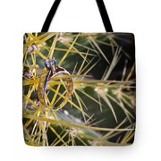 Wedding Ring On A Spine 1 Tote Bag