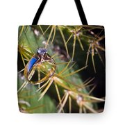 Wedding Ring On A Spine 2 Tote Bag