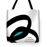 Wedding Rings Tote Bag by Linda Woods