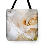 Wedding White Flowers Tote Bag