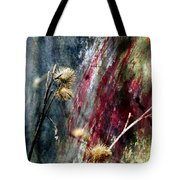Weed Abstract Blend 1 Tote Bag