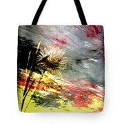Weed Abstract Blend 2 Tote Bag