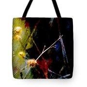 Weed Abstract Blend 3 Tote Bag