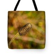 Weed Seed Head Tote Bag