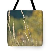 Weeds And Bokeh Tote Bag