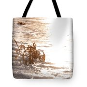 Weeds On Ice Tote Bag
