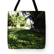 Weeds Plants Boats And Lots Of Greenery Tote Bag