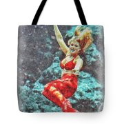 Weeki Wachee Mermaid Tote Bag