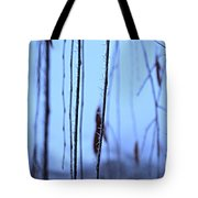 Weeping Forest Frost Tote Bag