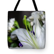 Weeping Lily Tote Bag