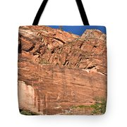 Weeping Rock In Zion National Park Tote Bag