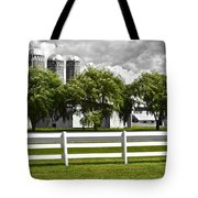 Weeping Willow Green Tote Bag