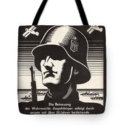 Wehrmacht Tote Bag