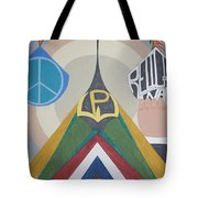Weighing Peace Tote Bag