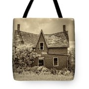 Weight Of The World - Antique Sepia Tote Bag