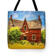 Weight Of The World Paint 2 Tote Bag