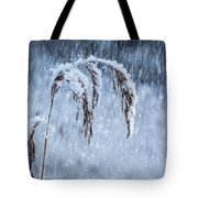Weight Of Winter Tote Bag