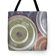 Weight Plates Tote Bag