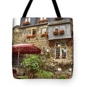 Weinhaus Restaurant Bachrach Germany Tote Bag