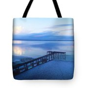 Weir Sunset Tote Bag