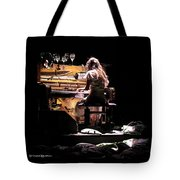Weird Live Piano Tote Bag by Stwayne Keubrick