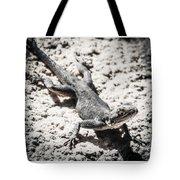 Weird Lizard Tote Bag by Stwayne Keubrick