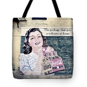 Welcome At Home Tote Bag