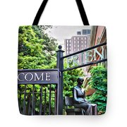 Welcome Friends Tote Bag