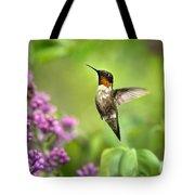 Welcome Home Hummingbird Tote Bag