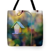 Welcome Neighbor - Digital Art Tote Bag